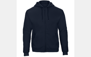 SWEAT-SHIRT capuche zippé adulte - CGWUI25